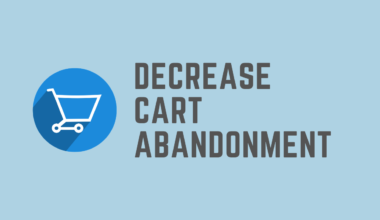 How to Decrease Online Shopping Cart Abandonment Rate