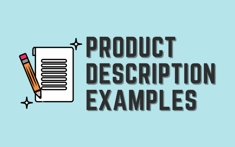 Product Description Examples You Must Try for Your eCommerce Store