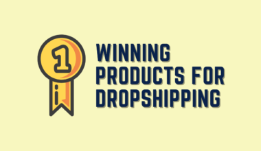 Winning Products for Dropshipping