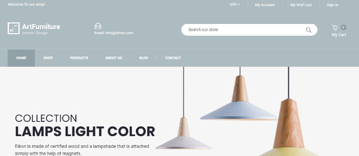 best furniture store shopify theme furnito