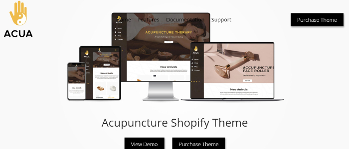 best medical store theme acua