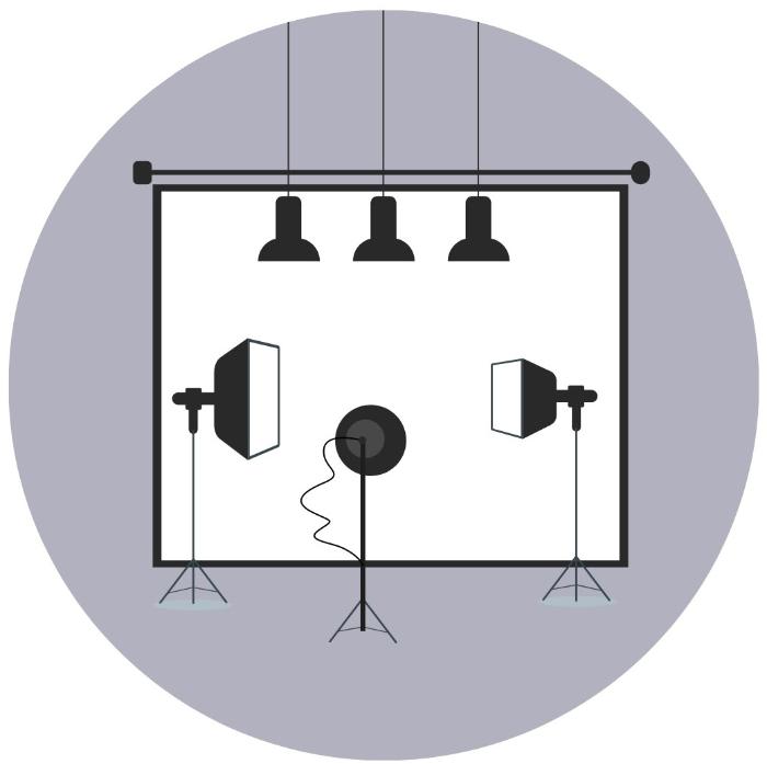 designated photography room