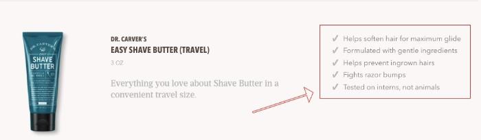 dollar shave club product description