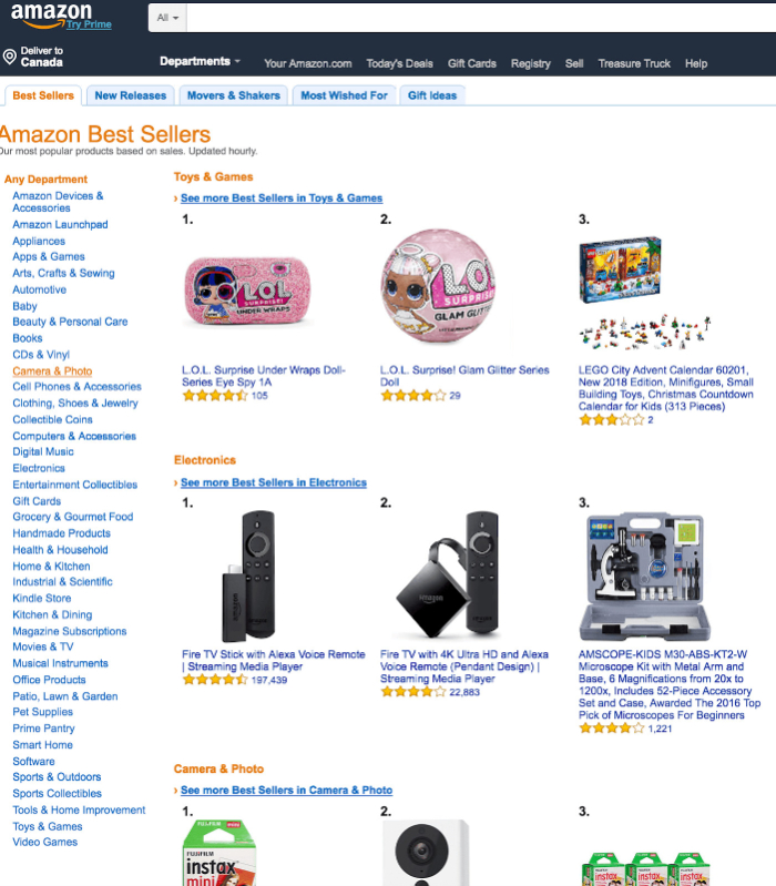 find winning products on amazon
