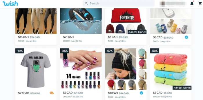 find winning products on wish