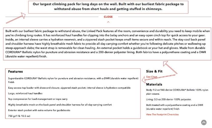 dewalt product description example