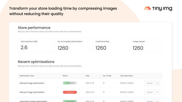About TinyIMG SEO & Image Optimizer Screenshot 5