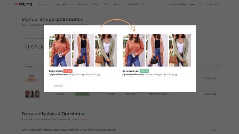 About TinyIMG SEO & Image Optimizer Screenshot 4