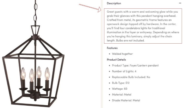 wayfair products page