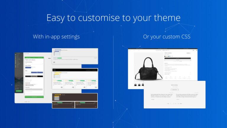 Opinew Shopify app screenshot 1