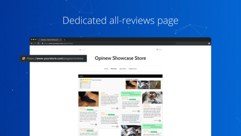 Opinew Shopify app screenshot 4