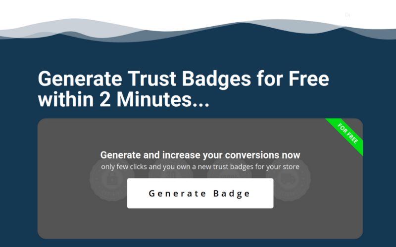Generate trust badges for free