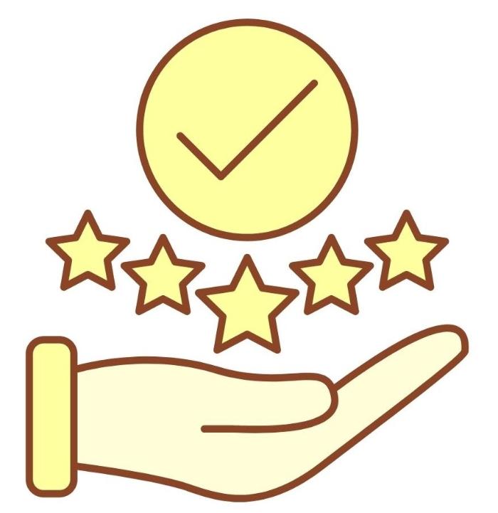 check feedback and ratings