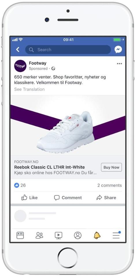 footway facebook ad
