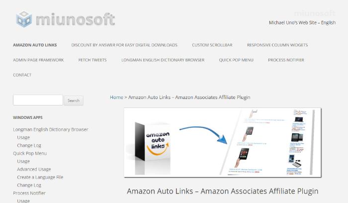 amazon auto links for wordpress