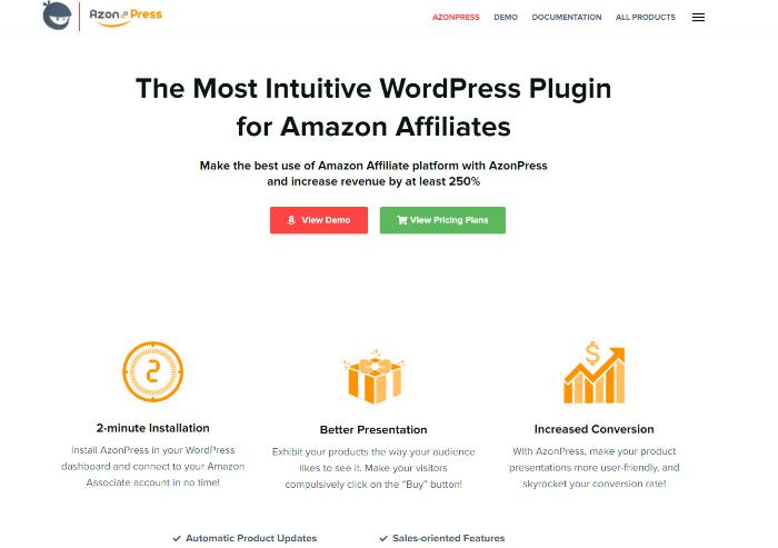 azon press affiliate plugin