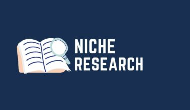 Niche research the right way