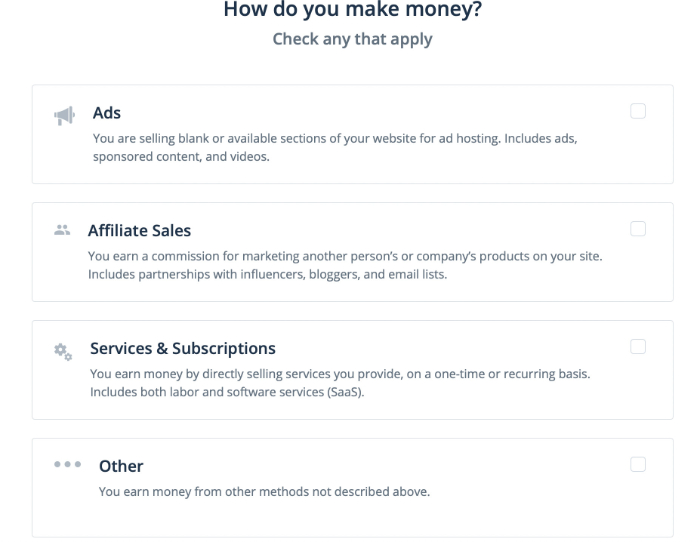 disclose how you earn with flippa