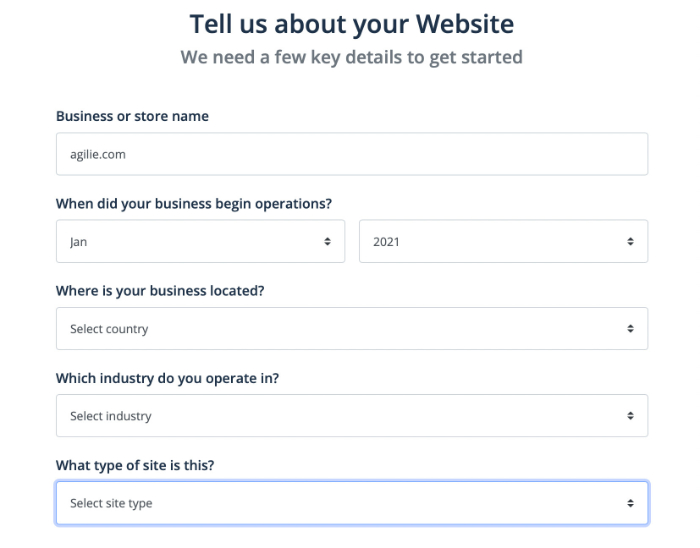tell flippa about your website